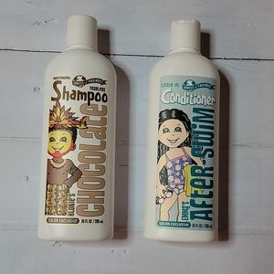 Chocolate Shampoo & After Swim leave in conditionr
